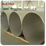 Tubo de acero inoxidable inconsútil de ASTM A213 TP304