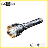 Torcia ricaricabile ultra luminosa della torcia elettrica dell'alluminio LED