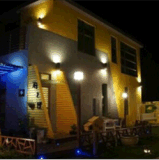 im Freien LED Wand-Licht Köpfe 3W zwei RGB-