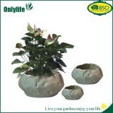 Kweekt de Onlylife Aangepaste Pot van de Stof voor Tuin Zak