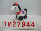 Plastikkönig Walking Horse Toy mit Süßigkeit