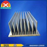 Disipador de calor de los perfiles de la aleación de aluminio de la Bambú-Dimensión de una variable de la alta calidad 6063/disipador de calor