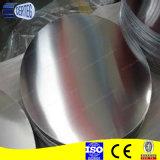 Cookwareのための1050 1060 1007 1100 3003熱間圧延のAluminum Circle