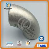 ASME B16.9 90dの肘のステンレス鋼の管付属品(KT0218)