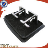 Neue Art-heiße Verkäufe Dofferent färbt Metallmanschettenknopf/Manschettenknopf-Hersteller
