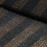 Goldstreifen-Baumwolldickflüssiges Polyesterspandex-Denim-Gewebe