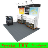 Encargo de aluminio portable modular Feria Exposición libro estante de exhibición