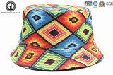 Chapéu boémio novo da cubeta do algodão do estilo 2016 com bordado feito sob encomenda