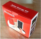 2 LED Lamp를 가진 Camping/Hiking/Home Use를 위한 Power 태양 System 3W Portable Solar Generator Home Light Solar Panel Kit USB Output