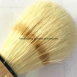 Деревянный инструмент парикмахера брея щетки животных волос ручки