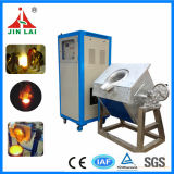 Small giratório Induction Melting Furnace para Brass Bronze Copper (JLZ-45)