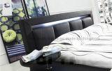A508 LED 빛을%s 가진 새로운 디자인 가죽 침대
