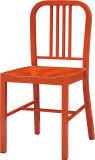 Cadeiras alaranjadas do restaurante do metal do projeto simples para a venda por atacado (FOH-BCC13)