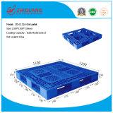 1100*1100*150mmのプラスチック皿の格子は直面した倉庫の記憶(ZG-1111A)のための1tダイナミックなプラスチックパレットに