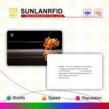 Cartão do PVC da listra magnética de Hico da impressão de Cmyk de Sunlanrfid