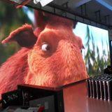 Écran extérieur polychrome d'Afficheur LED d'IMMERSION élevée de la définition P10