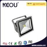 marco del negro del reflector de 50W 70W 100W 150W LED