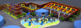 専門の適切な価格のChildren&Adultsの楽しみ公園は屋内トランポリン公園をもてあそぶ