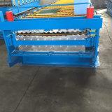 Roulis en acier de tuile de Double couche formant la machine pour le panneau de feuille de toiture