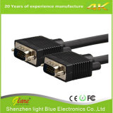 Голубой VGA штепсельной вилки 1.8m к кабелю VGA