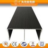 Profil en bois de guichet en aluminium des graines de la meilleure vente