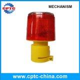 Fabricação profissional LED Solar Tower Crane Warning Light