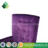 居間(ZSC-72)のための現代最高背部椅子の紫色の椅子