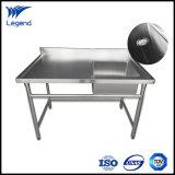 単一のDrainboardの熱い販売の商業ステンレス鋼の流し