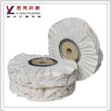 200mm weiche weiße schräge Falten-Schleifscheibe
