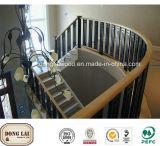Prix rond de balustrade en bois solide de modèle moderne