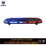 Diodo emissor de luz de 41.5 polegadas que adverte Lightbar na lente vermelha e azul do diodo emissor de luz e do Tir