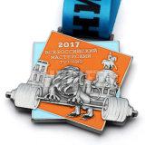 Entwurfs-Firmenzeichen-Farbband-Sport-Medaillon-Medaille des Fabrik-direkter niedriger Preis-preiswerter Großverkauf Soem-kundenspezifische weiche Decklack-Preis-3D