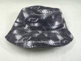 Chapéu reversível macio da cubeta da forma feita sob encomenda Leather/PU