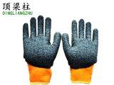 Schaumgummi-überzogene Handschuhe des Terry-Nickerchen machende Futter-Latex-3/4 mit Cer