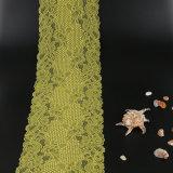 Ткань шнурка простирания желтого цвета Китая для украшать/вспомогательного оборудования одежды