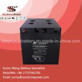 Batterie de sauvegarde profonde de bloc d'alimentation de la batterie 2V 2000ah de gel de cycle