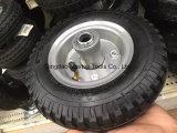 عال [قوليتي] عربة يد عجلة مطّاطة (3.00-4) مع حاجة بلاستيكيّة