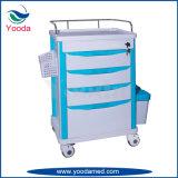 Bedarfs-Krankenhaus-Gebrauch ABS Krankenpflege-Medizin-Laufkatze