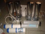 304stainless PP/Udf+CTO 필터와 스테인리스 꼭지 스위치 연결관을%s 가진 강철 물 정화기