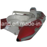 Aqualand 14feet 4.2m Rib Boat/Motor Boat/Rigid Inflatable Boat (RIB420C)