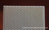 Placas cerâmicas do calefator do favo de mel infravermelho com o certificado ISO9001