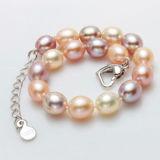 Natürliches Frischwasserfrauen-Perlen-Armband der perlen-Armband AAA-Absinken-Form-8-9mm reizend