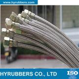 Tubo flessibile di Teflon, tubo flessibile di PTFE, tubo flessibile resistente a temperatura elevata