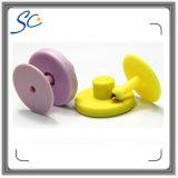 Tag de orelha eletrônico padrão do plástico RFID de 134.2kHz Fdx-B