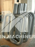 El acero inoxidable P hizo girar la asamblea de tubo radiante del molde