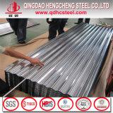亜鉛コーティングの熱いすくいの電流を通された波形の屋根ふきシート