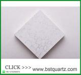 Bovenkant van de Lijst van de Keukenkast van het Kwarts Orion van Carrera de Witte Marmeren