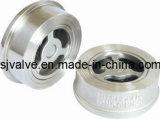 Válvula de aço inoxidável tipo wafer (H71W)