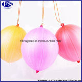 16 des 8g Locher-Zoll Ballon-mit Gummiband, Latex-Ballon