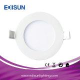 Tipo rotondo indicatore luminoso di comitato messo di 6W 9W 12W 15W 18W 24W 30W LED con il certificato del Ce